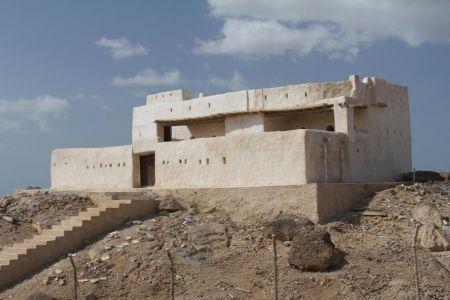 القلعة العثمانية في جزيرة الفرسان بجازان