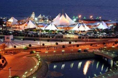 جزيرة الشراع في جدة