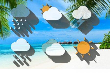 حالة الطقس والمناخ في جزر المالديف