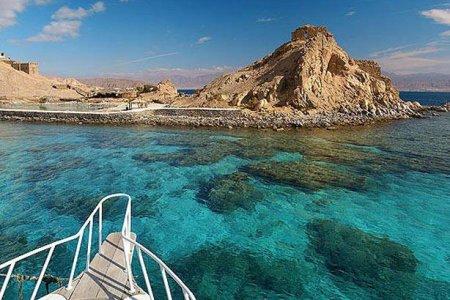 الجزيرة المسحورة في جنوب سيناء