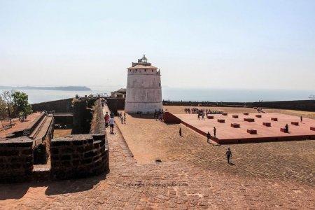 حصن أجوادا في جوا - الهند