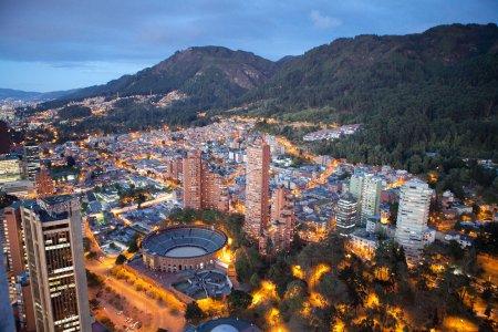 مدينة بوغوتا عاصمة كولومبيا