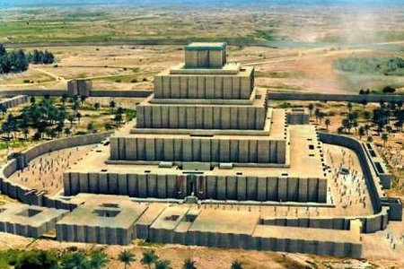 معبد جغا زنبيل في خوزستان - إيران