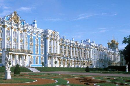 جولة مصورة داخل قصر كاثرين روسيا