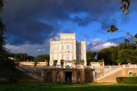 فيلا دوريا بامبيلي في روما