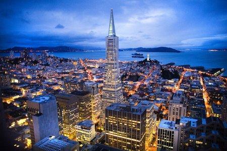المنطقة التجارية في سان فرانسيسكو
