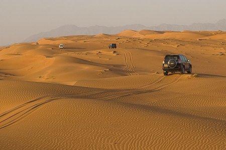 رمال الوهيبة في سلطنة عمان
