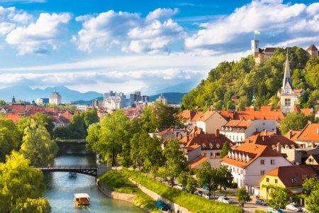 قلعة ليوبليانا في سلوفينيا