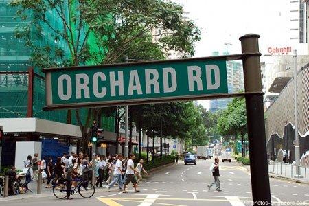 جولة في شارع أورشارد في سنغافورة