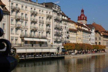مدينة لوزيرن بسويسرا
