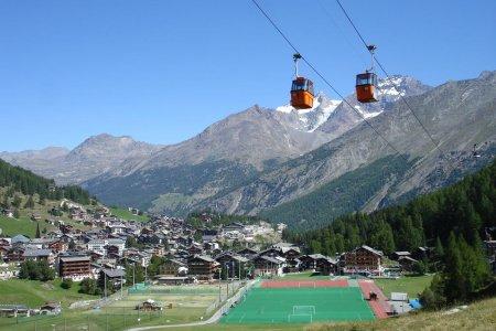 مدينة ساس فيي في سويسرا