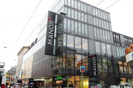فخامة واجهة متجر مانور سويسرا