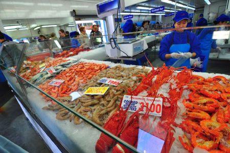 سوق السمك في سيدني - أستراليا