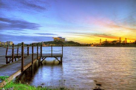 بحيرة بوتراجايا في ماليزيا