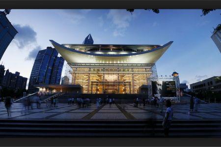مسرح شنغهاي الكبير في شانغهاي - الصين