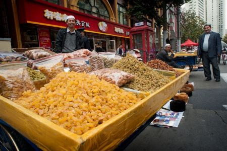 المجمعات التجاريةفي شانغهاي - الصين