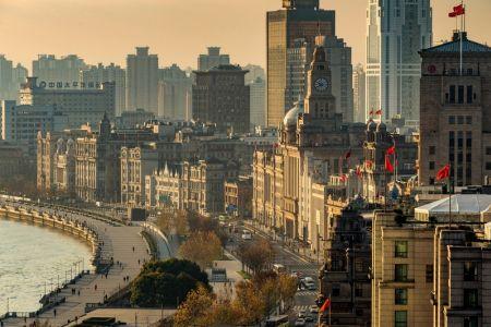 مبنى البوند في شنغهاي - الصين