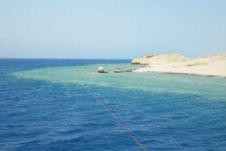 جزيرة تيران في شرم الشيخ - مصر