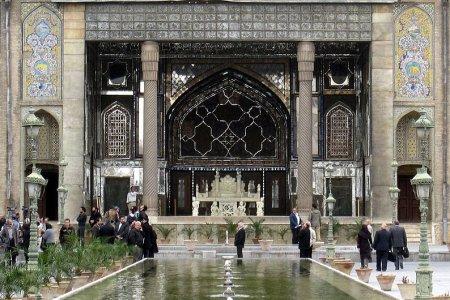 قصر كلستان في طهران إيران