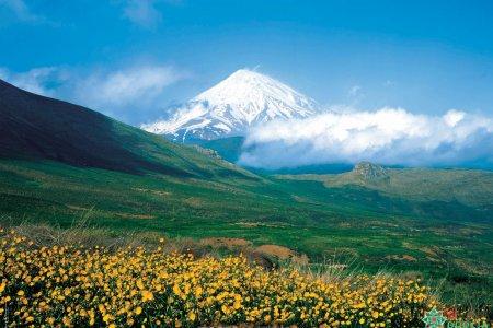جبل دمافند في طهران - إيران