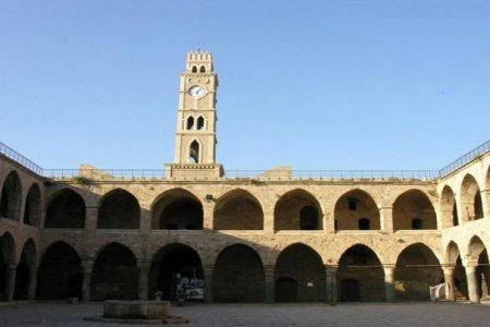خان العمدان في مدينة عكا