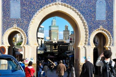 مدينة فاس بالمغرب