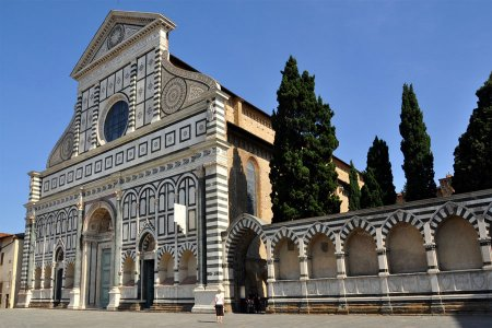 كنيسة سانتو سبيريتو في فلورنسا - إيطاليا