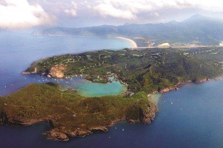لقطة جوية لأرخبيل كون داو فيتنام