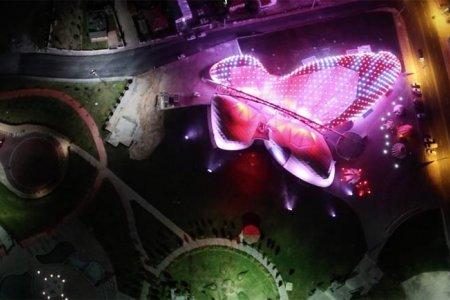 التصميم الفريد لحديقة الفراشات في قونية