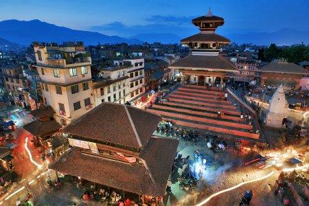 ساحة دوربار في كاتماندو - نيبال
