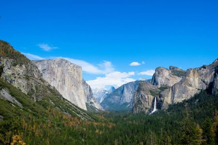 منتزه يوسيميتي الوطني في كاليفورنيا
