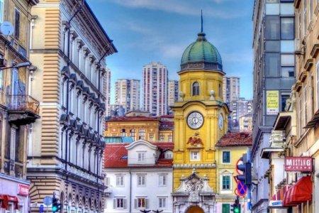 برج المدينة في مدينة رييكا