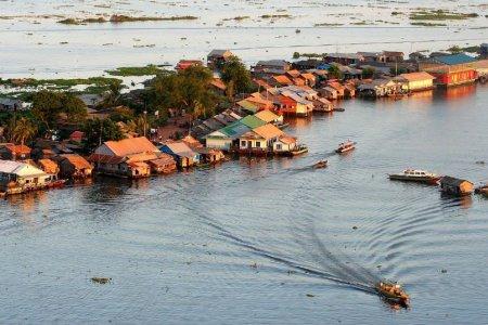 بحيرة تونل ساب في كمبوديا