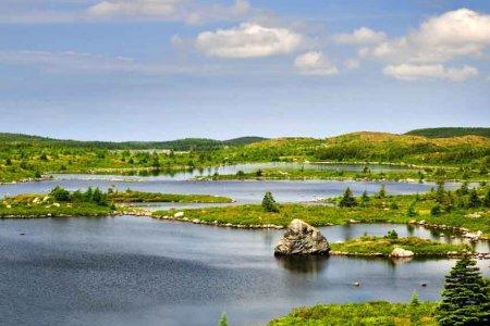 جزيرة نيوفاوندلاند في كندا