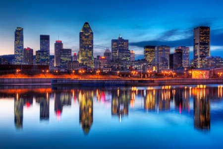 مدينة مونتريال كندا