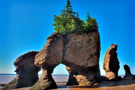 صخور هوبويل العملاقة في كندا