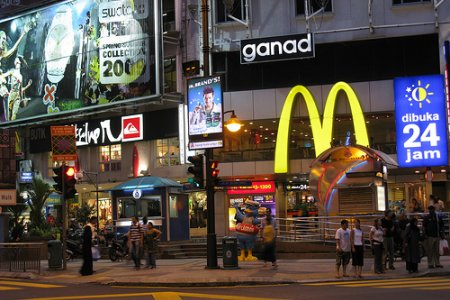 شارع العرب في كوالالمبور ماليزيا