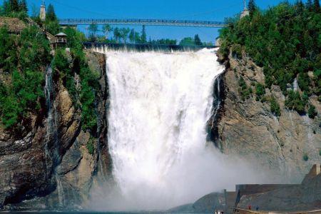 شلالات مونتمورنسي في كندا