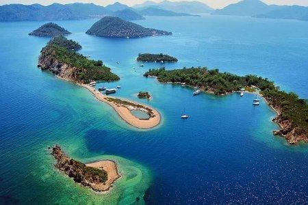 جزيرة كيكوفا في تركيا