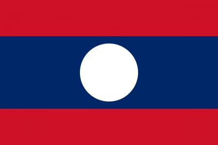 علم لاوس