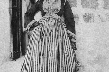 الزي التقليدي للمرأة اللبنانية