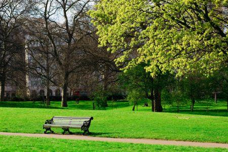 حديقة هايد بارك في لندن - المملكة المتحدة