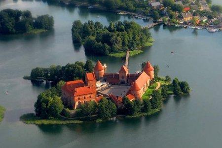 جزيرة تراكاي السياحية في ليتوانيا