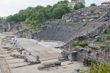 المسرح الروماني في ليون - فرنسا