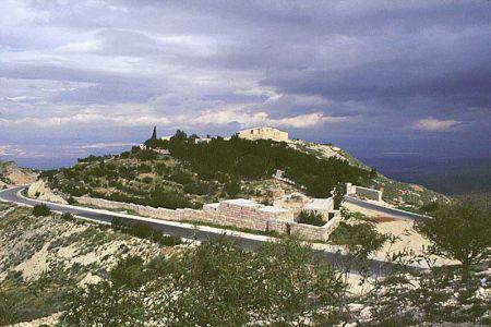 جبل نيبو في الأردن
