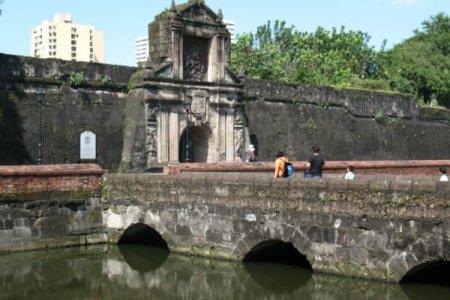 حصن سانتياغو في مانيلا - الفلبين