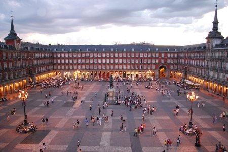 ساحة بلازا مايور Plaza Mayor