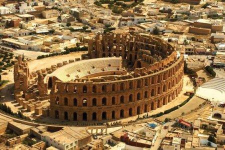 قصر الجم في المهدية - تونس