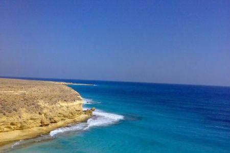 شاطئ عجيبة في مطروح - مصر
