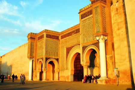 باب المنصور في مكناس - المغرب